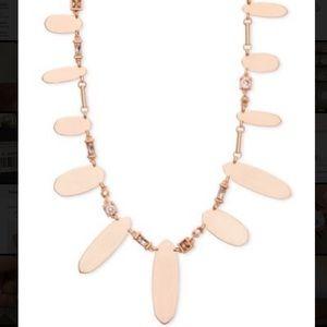 Kendra Scott Airella Necklace rose gold